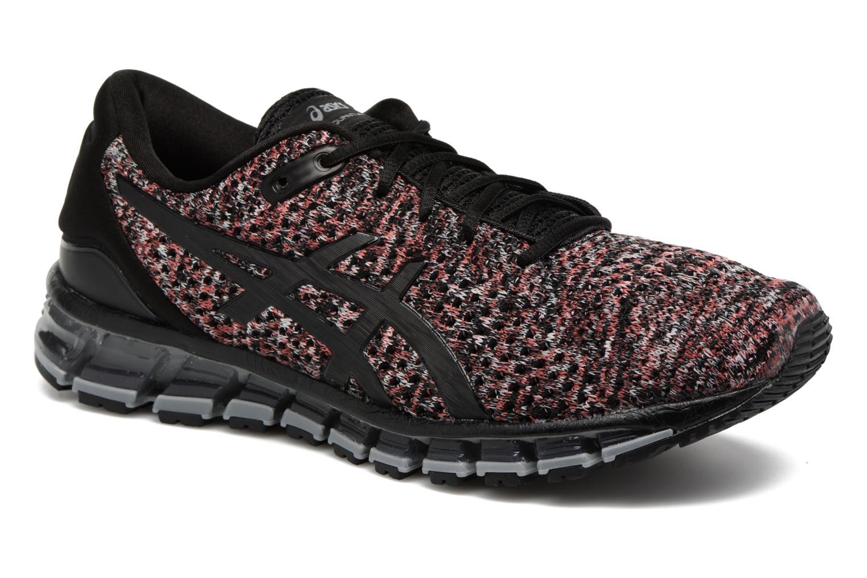 Chaussures de sport Asics Gel-Quantum 360 Knit 2 Rouge vue détail/paire