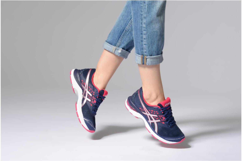 Chaussures de sport Asics Gel Pulse 9 Bleu vue bas / vue portée sac