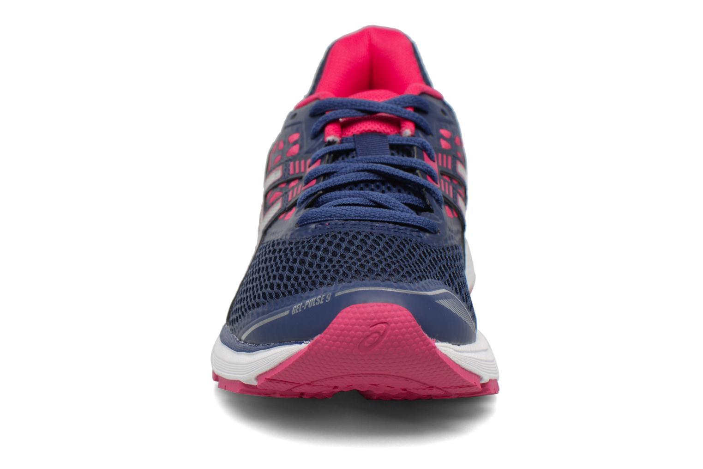 Chaussures de sport Asics Gel Pulse 9 Bleu vue portées chaussures