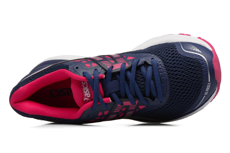 Chaussures de sport Asics Gel Pulse 9 Bleu vue gauche