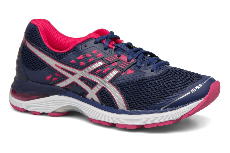 Chaussures de sport Asics Gel Pulse 9 Bleu vue détail/paire