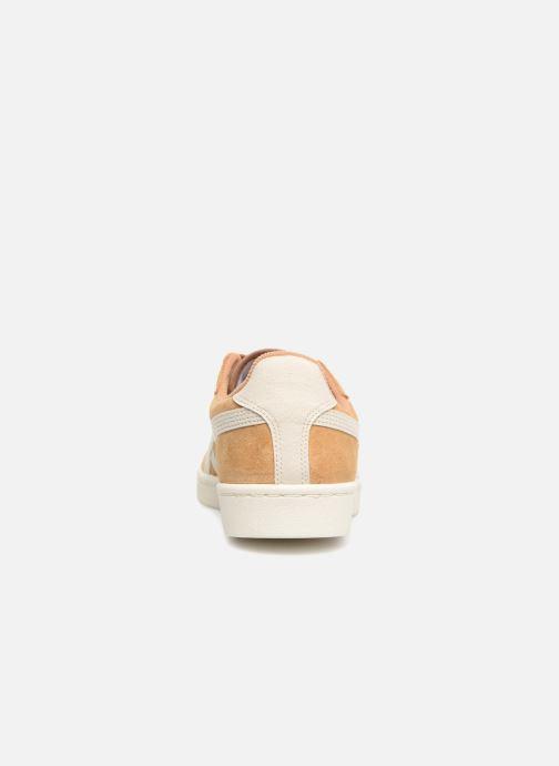 Sneakers Asics Gsm Bruin rechts