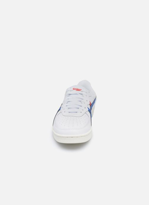 Baskets Onitsuka Tiger Gsm Blanc vue portées chaussures