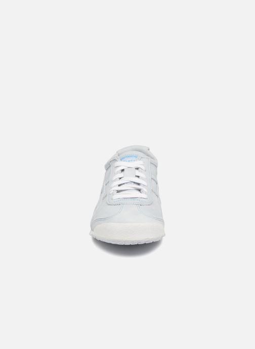 Baskets Asics Mexico 66 Bleu vue portées chaussures