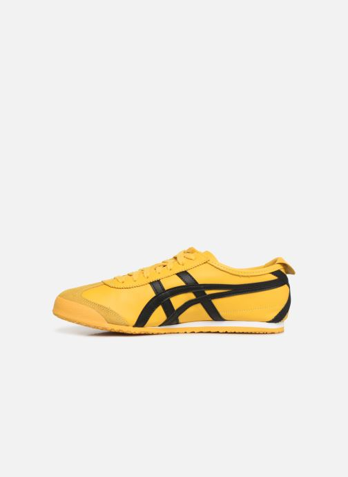 Trainers Asics Mexico 66 M Yellow front view