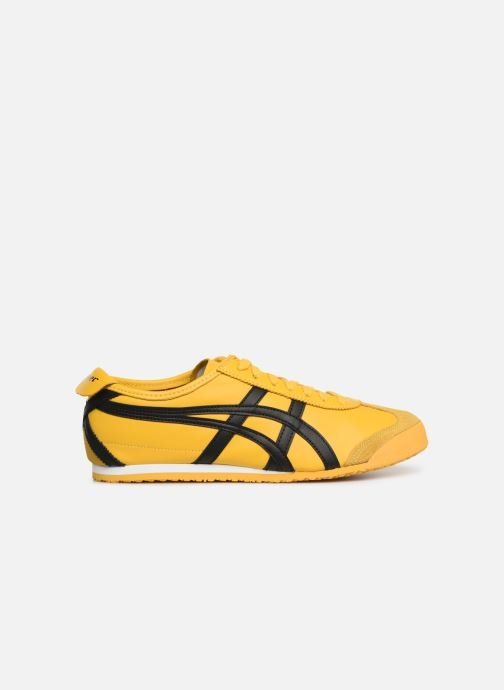 Trainers Asics Mexico 66 M Yellow back view