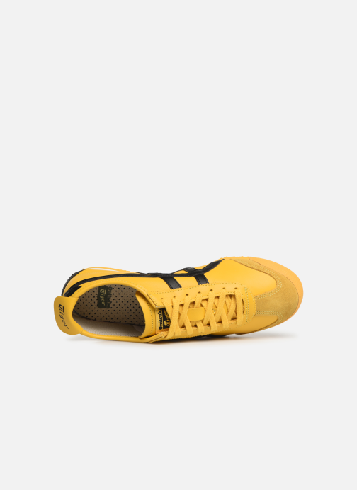 Trainers Asics Mexico 66 M Yellow view from the left
