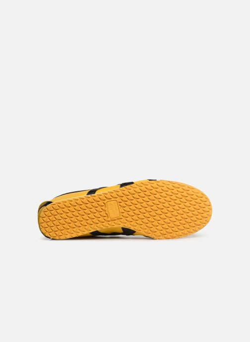 Trainers Asics Mexico 66 M Yellow view from above