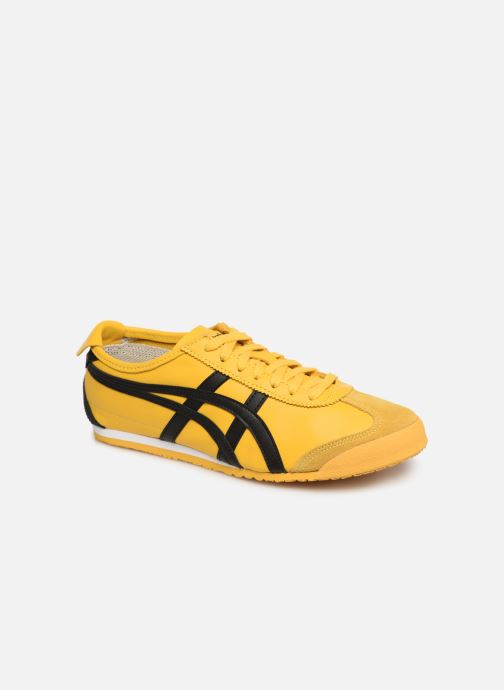 Trainers Asics Mexico 66 M Yellow detailed view/ Pair view