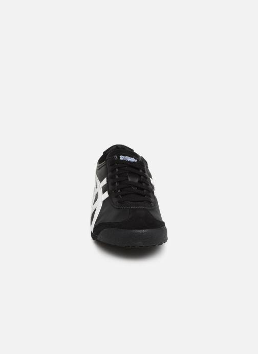 Baskets Onitsuka Tiger Mexico 66 M Noir vue portées chaussures