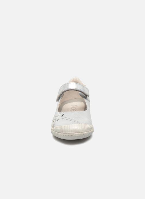 Ballerines Noël Pani Argent vue portées chaussures