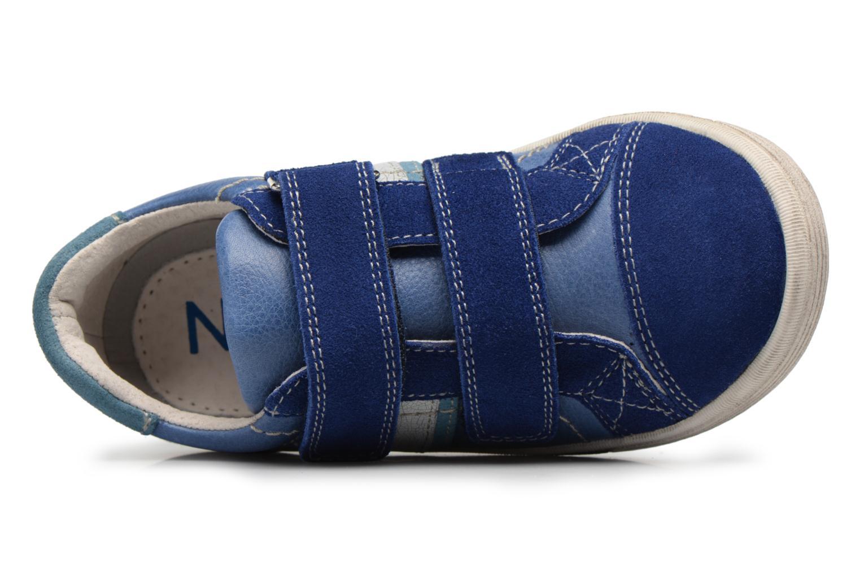 Baskets Noël Ringo Bleu vue gauche
