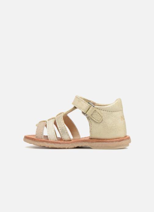 Sandales et nu-pieds Noël Mini Servi Or et bronze vue face