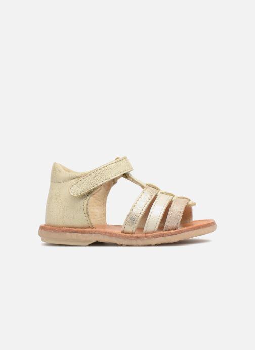 Sandales et nu-pieds Noël Mini Servi Or et bronze vue derrière