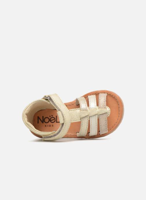 Sandales et nu-pieds Noël Mini Servi Or et bronze vue gauche