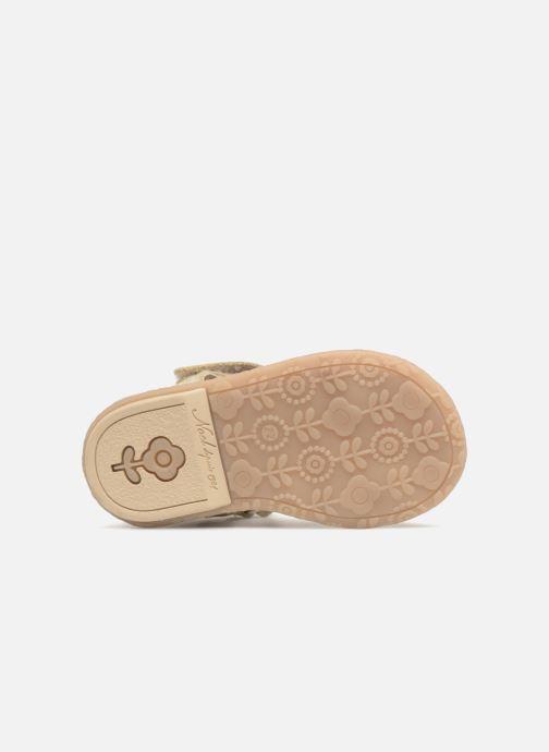 Sandales et nu-pieds Noël Mini Servi Or et bronze vue haut