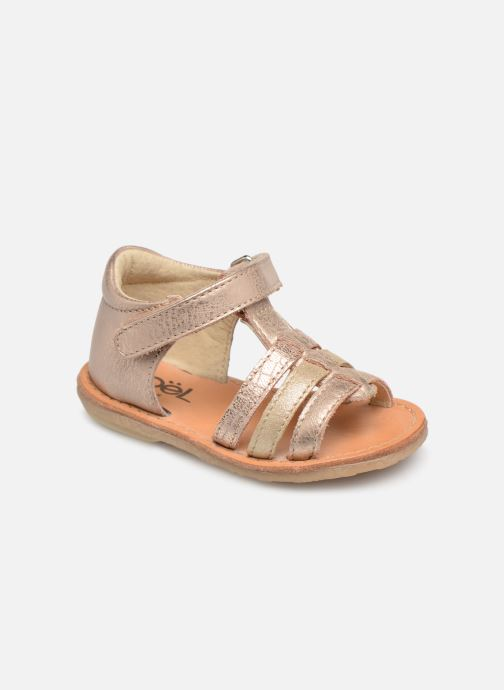 Sandals Noël Mini Servi Pink detailed view/ Pair view