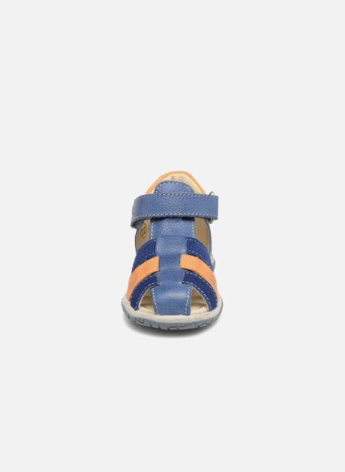 Sandales et nu-pieds Noël Mini  Tin Bleu vue portées chaussures