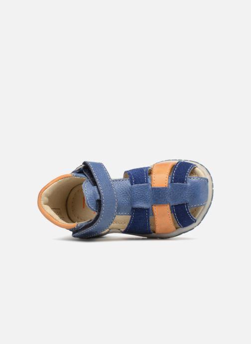Sandales et nu-pieds Noël Mini  Tin Bleu vue gauche
