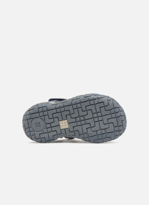 Sandales et nu-pieds Noël Mini  Tin Bleu vue haut