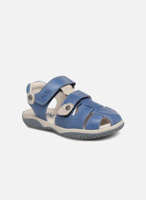 Sandaler Noël Tylero Blå detaljeret billede af skoene