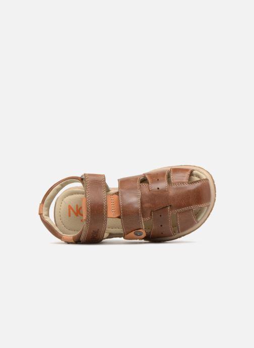 Sandali e scarpe aperte Noël Tylero Marrone immagine sinistra