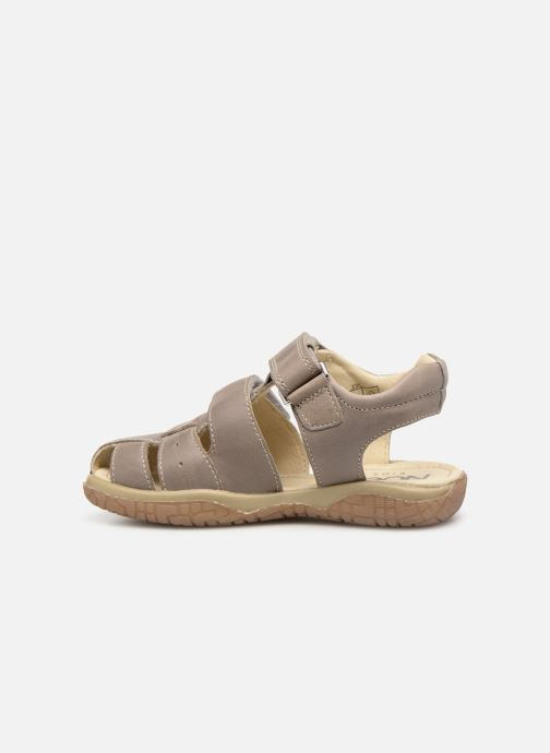 Sandales et nu-pieds Noël Tylero Marron vue face