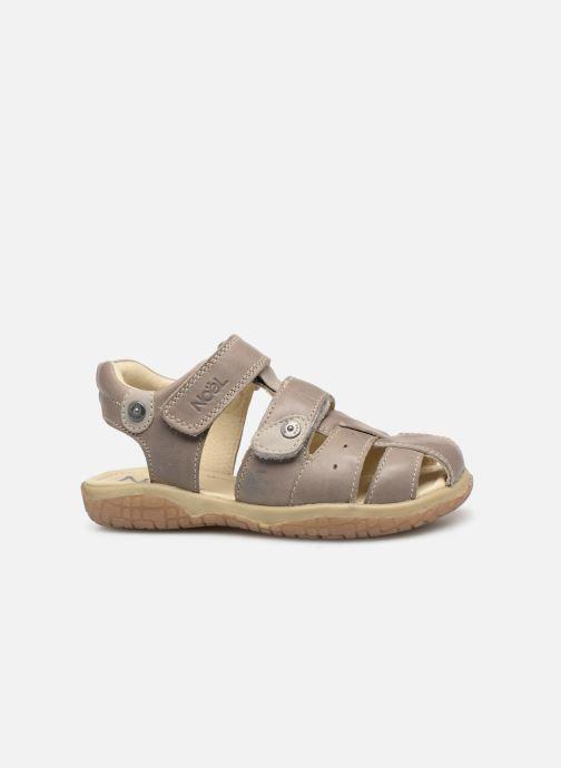Sandales et nu-pieds Noël Tylero Marron vue derrière