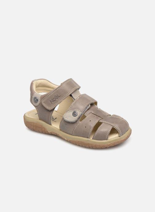 Sandales et nu-pieds Noël Tylero Marron vue détail/paire
