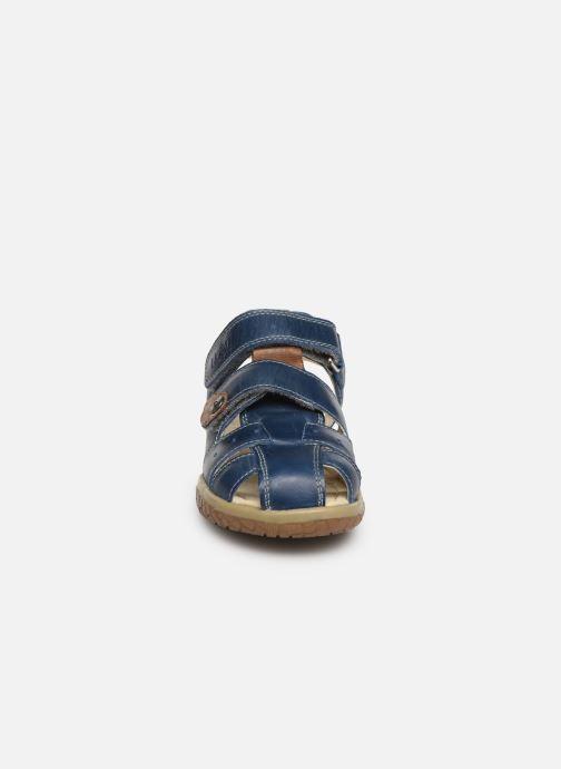 Sandalen Noël Tylero blau schuhe getragen