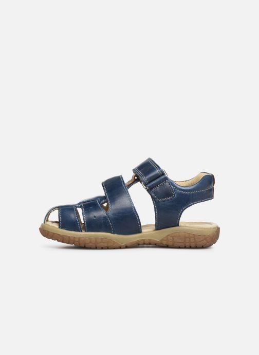 Sandalen Noël Tylero blau ansicht von vorne