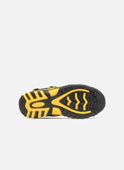 Sandales et nu-pieds Kangaroos Osato Noir vue haut