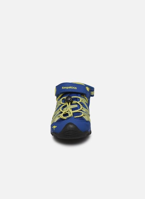 Sandali e scarpe aperte Kangaroos Osato Azzurro modello indossato