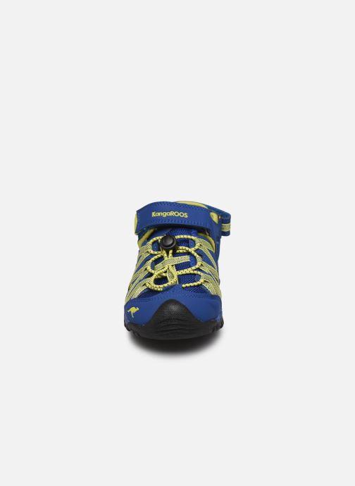 Sandales et nu-pieds Kangaroos Osato Bleu vue portées chaussures