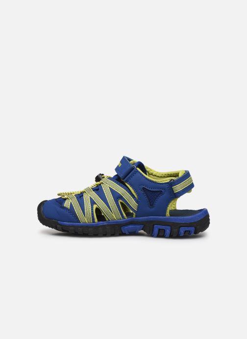 Sandales et nu-pieds Kangaroos Osato Bleu vue face