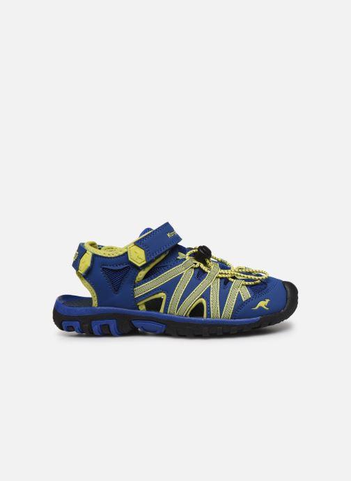 Sandales et nu-pieds Kangaroos Osato Bleu vue derrière