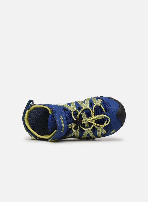 Sandales et nu-pieds Kangaroos Osato Bleu vue gauche