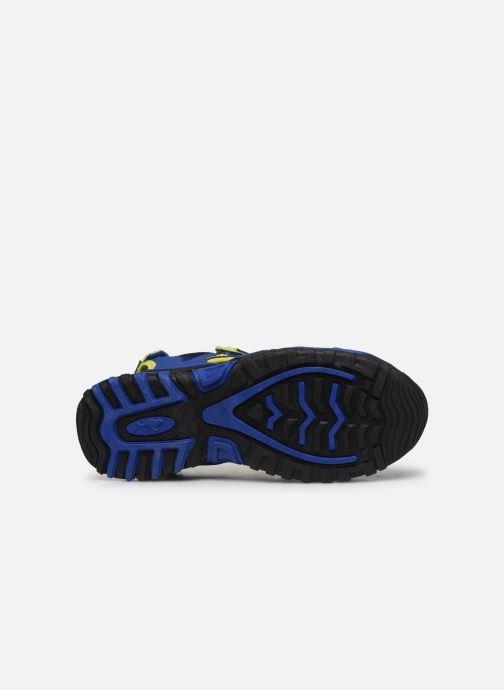 Sandales et nu-pieds Kangaroos Osato Bleu vue haut