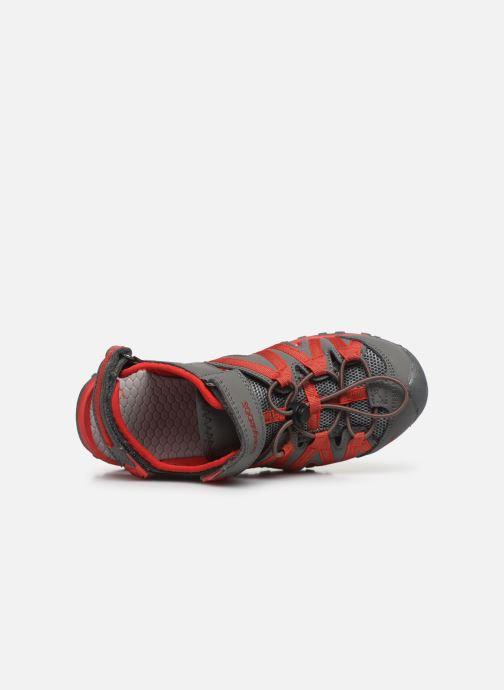 Sandales et nu-pieds Kangaroos Osato Gris vue gauche