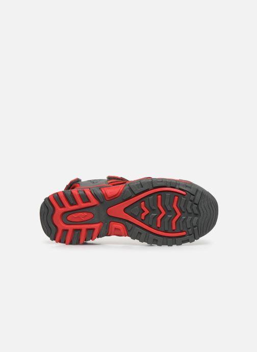 Sandales et nu-pieds Kangaroos Osato Gris vue haut