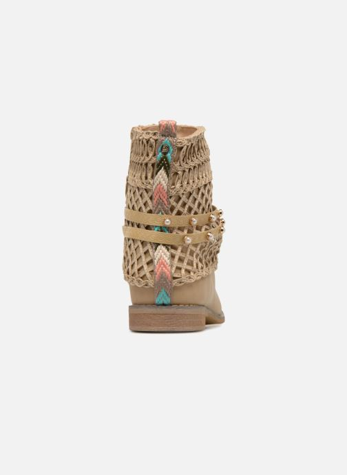 Ankle boots Bullboxer BESSIE Beige view from the right