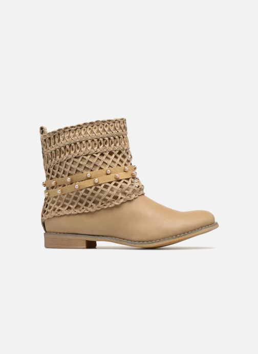 Ankle boots Bullboxer BESSIE Beige back view