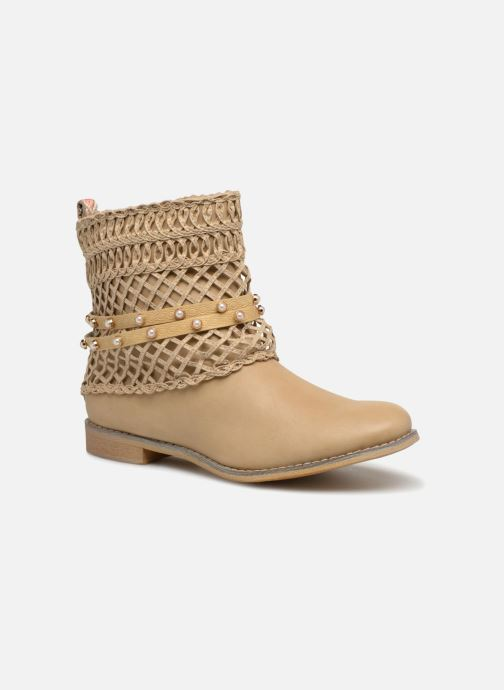 Ankle boots Bullboxer BESSIE Beige detailed view/ Pair view