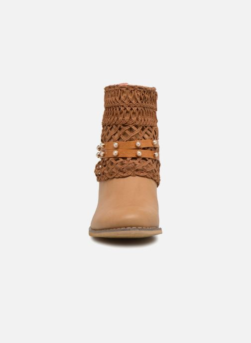 Ankle boots Bullboxer BESSIE Brown model view