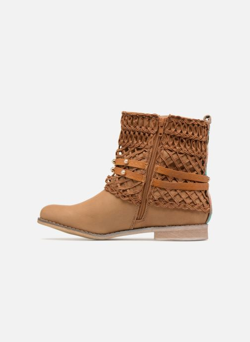 Ankle boots Bullboxer BESSIE Brown front view