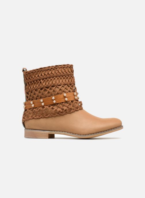 Ankle boots Bullboxer BESSIE Brown back view
