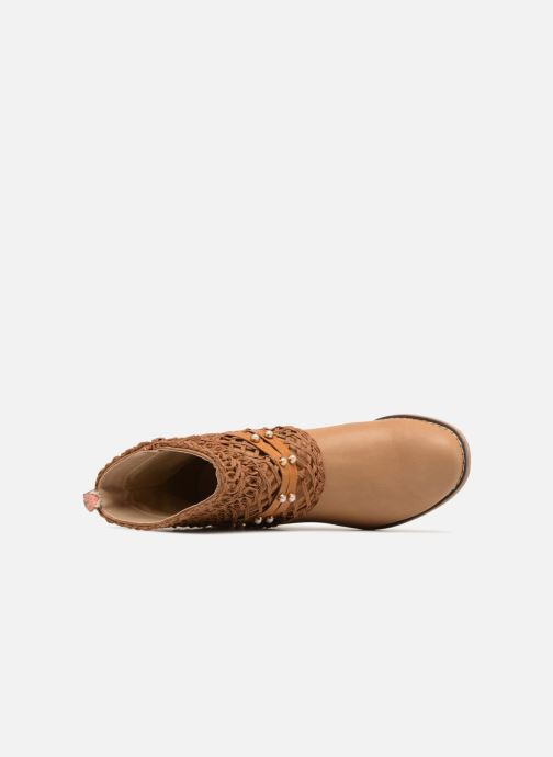 Ankle boots Bullboxer BESSIE Brown view from the left