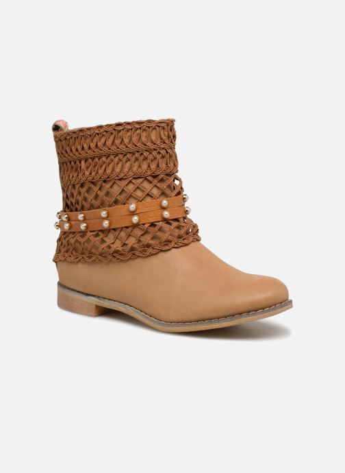 Ankle boots Bullboxer BESSIE Brown detailed view/ Pair view