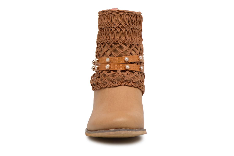 Bottines et boots Bullboxer BESSIE Marron vue portées chaussures