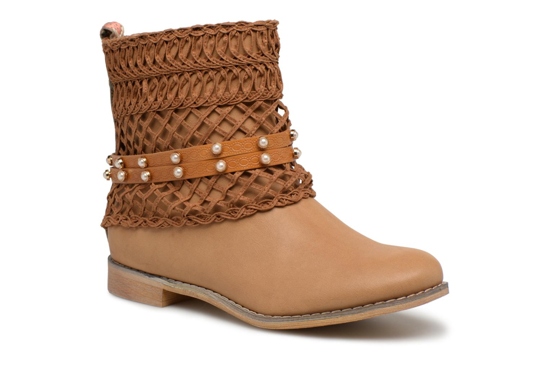 Bottines et boots Bullboxer BESSIE Marron vue détail/paire
